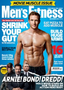 Sean Lerwill's Men's Fitness cover